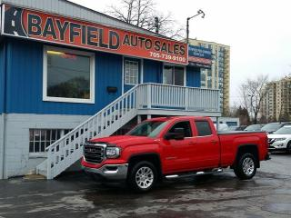 Used 2017 GMC Sierra 1500 SLE Double Cab 4x4 **5.3L/Navigation/Remote Start** for sale in Barrie, ON