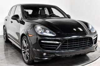 Used 2014 Porsche Cayenne TURBO AWD CUIR TOIT NAV for sale in Île-Perrot, QC