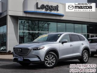 Used 2017 Mazda CX-9 GS-L  AWD, LEATHER HEATED SEATS, MOONROOF, BLUETOOTH for sale in Burlington, ON