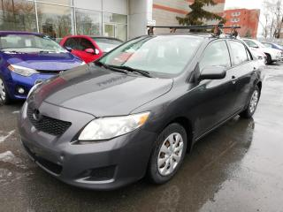 Used 2009 Toyota Corolla CE * GROUPE ÉLECTRIQUE** BARRES TOIT**ATTELAGE * for sale in Longueuil, QC
