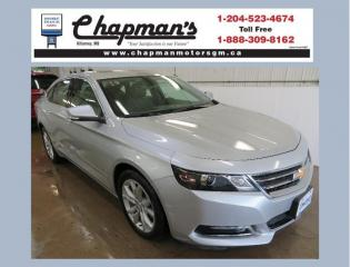 Used 2019 Chevrolet Impala 1LT Sunroof, Leather Seating for sale in Killarney, MB