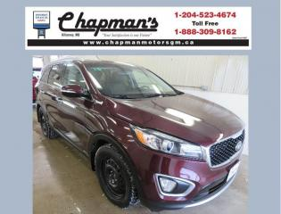 Used 2016 Kia Sorento 2.0L EX Leather Seats, Winter Tires on Rims - Almost New, Heated Steering Wheel for sale in Killarney, MB