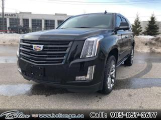 New 2020 Cadillac Escalade Platinum - Leather Seats for sale in Bolton, ON