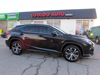 Used 2016 Lexus RX 350 AWD LUXARY Navigation*Blind Spot*Camera*Certified for sale in Milton, ON