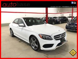 Used 2018 Mercedes-Benz C-Class C300 4MATIC PREMIUM SPORT CLEAN CARFAX! for sale in Vaughan, ON