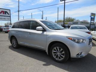 Used 2015 Infiniti QX60 AWD PREMIUM PACKAGE NAVI CAMERA BOSE CUIR TOIT for sale in St-Eustache, QC