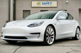 Used 2019 Tesla Model 3 PERFORMANCE AWD AUTOPILOT 2, PERFORMANCE UPGRADE PKG, CARFAX CLEAN! for sale in Burlington, ON