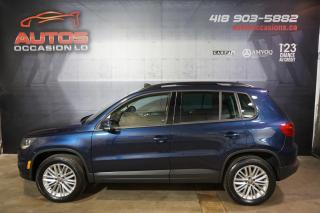 Used 2016 Volkswagen Tiguan SPECIALE EDITION 4MOTION TOIT OUVRANT CAMERA MAGS for sale in Lévis, QC