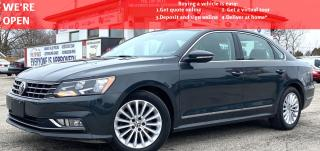 Used 2016 Volkswagen Passat SE 6A|  COMFORTLINE|VIDEO.CALL.US| LEATHER| SUNROOF|REARVIEW| for sale in Mississauga, ON