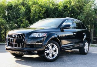 Used 2014 Audi Q7 TDI|NAVI| TEXT.US | 647.678.7778| ONE OWNER| CLEAN CARFAX| NAVI| LEATHER| PANOROOF| 7 PASSENGERS| for sale in Mississauga, ON