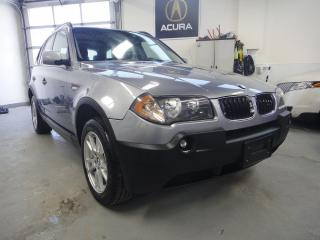 Used 2006 BMW X3 2.5i,PANO ROOF,NO ACCIDENT for sale in North York, ON