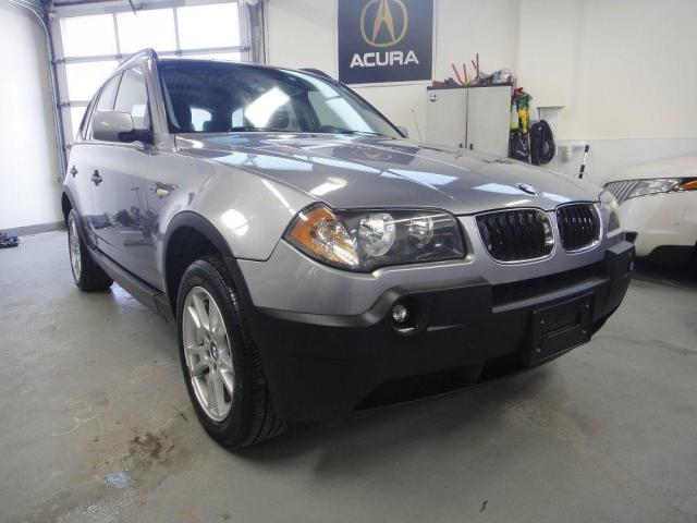 2006 BMW X3 2.5i,PANO ROOF,NO ACCIDENT