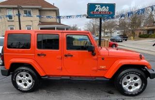 Used 2015 Jeep Wrangler Sahara for sale in Dunnville, ON