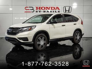 Used 2015 Honda CR-V LX + CAMERA + SIEGES CHAUFF + WOW! for sale in St-Basile-le-Grand, QC