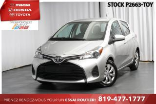 Used 2017 Toyota Yaris LE| AUTOMATIQUE| CLIMATISATION for sale in Drummondville, QC