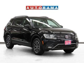 Used 2018 Volkswagen Tiguan Comfortline 4WD Leather PanoRoof Bcam 7Pass for sale in Toronto, ON