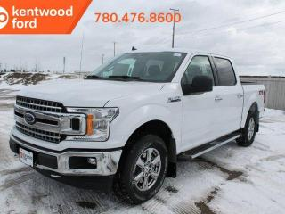 New 2020 Ford F-150 XLT 300A XTR pkg 2.7L 4x4 ecoboost with class IV trailer hitch, auto start/stop, cruise control, back up cam, keyless entry for sale in Edmonton, AB