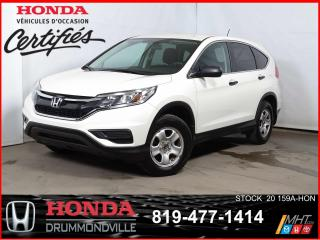 Used 2015 Honda CR-V LX+FWD+CAMÉRA+SIEGES CHAUFFANTS+BLUETOOTH+++ for sale in Drummondville, QC