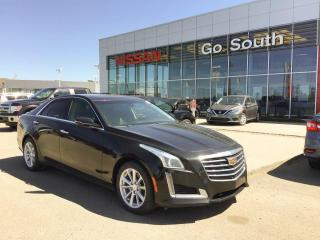 Used 2017 Cadillac CTS Sedan 2.0L. AWD, LEATHER for sale in Edmonton, AB