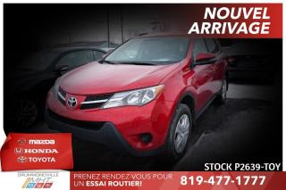 Used 2015 Toyota RAV4 GROUPE AMÉLIORÉ| CAM RECUL| SIÈGES CHAUFFANTS for sale in Drummondville, QC