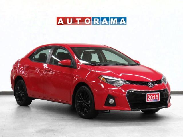 2015 Toyota Corolla Sport Leather Sunroof Backup Cam