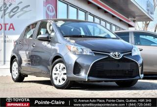 Used 2016 Toyota Yaris ***RÉSERVÉ***HB for sale in Pointe-Claire, QC