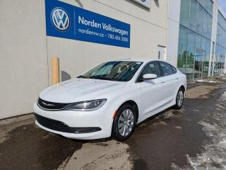 Used 2016 Chrysler 200 LX AUTO - PWR PKG / BLUETOOTH for sale in Edmonton, AB