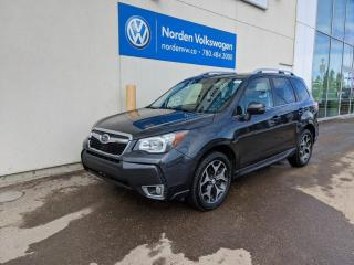 Used 2016 Subaru Forester XT LIMITED - LEATHER / PANO ROOF / NAVI for sale in Edmonton, AB