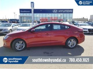 New 2020 Hyundai Elantra Preferred Sun and Safety Package - 2.0L Sunroof, Lane Departure/Keep Assist, Push Buttonh Button for sale in Edmonton, AB