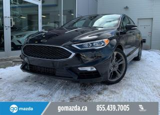 Used 2017 Ford Fusion SPORT - 2.7L ECOBOOST, RARE, LEATHER, AWD, NAV, FULL LOAD for sale in Edmonton, AB