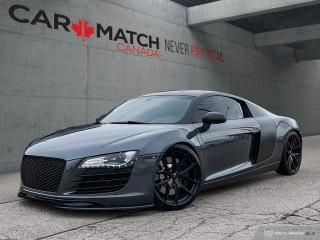 Used 2008 Audi R8 6-SPD MANUAL / 65121 KM for sale in Cambridge, ON