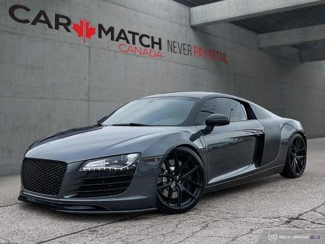 2008 Audi R8 6-SPD MANUAL / 65121 KM
