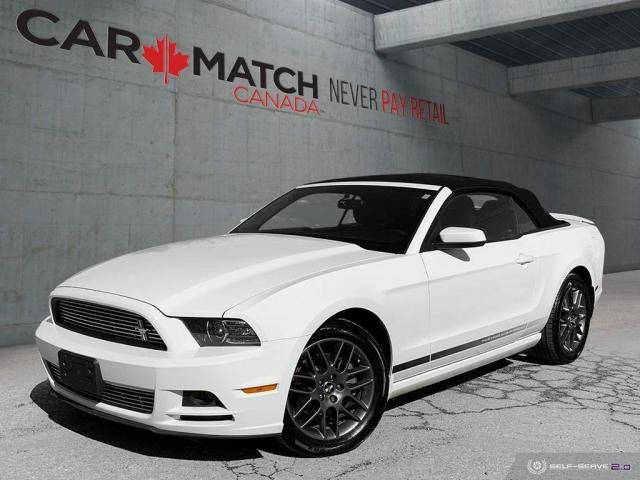 2014 Ford Mustang V6 PREMIUM / LEATHER / CONVERTIBLE