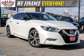 Used 2016 Nissan Maxima 3.5 V6 / LEATHER / B-UP CAM / HTD SEATS & STEERING for sale in Hamilton, ON