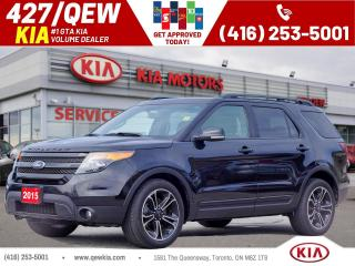 Used 2015 Ford Explorer SPORT for sale in Etobicoke, ON