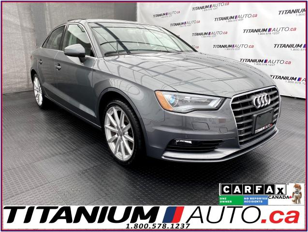 2016 Audi A3 Progressiv+Camera+Front & Rear Parking Aid+Pano Ro