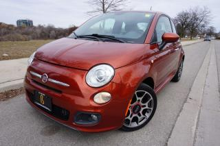 Used 2012 Fiat 500 LOW KM'S / MANUAL / NO ACCIDENTS STUNNING COLOUR for sale in Etobicoke, ON