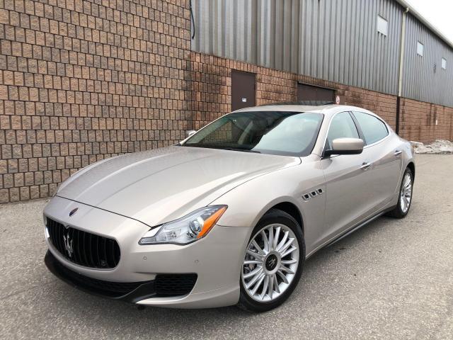 2014 Maserati Quattroporte S Q4-AWD-NAVI-CAMERA-DVD-1 OWNER