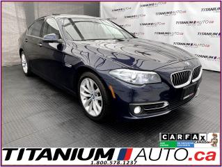 Used 2016 BMW 5 Series Safety PKG+GPS+Camera+Blind Spot+Lane Assist+xDriv for sale in London, ON