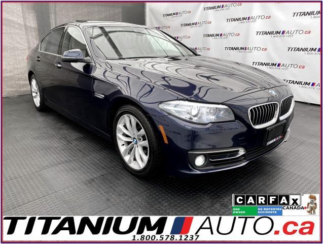 2016 BMW 5 Series Safety PKG+GPS+Camera+Blind Spot+Lane Assist+xDriv