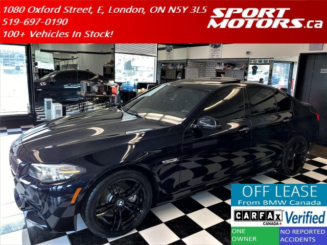 2016 BMW 5 Series 528i xDrive M-PKG+TECH PKG+New Tires+Accident Free