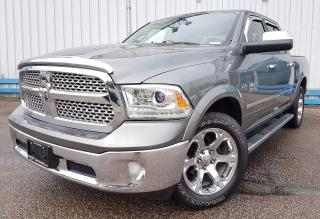 Used 2013 RAM 1500 Laramie Crew Cab 4x4 *LEATHER-NAVIGATION* for sale in Kitchener, ON