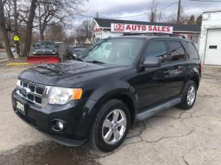 Used 2011 Ford Escape XLT/4WD/Automatic/Accident Free/Bluetooth for sale in Scarborough, ON