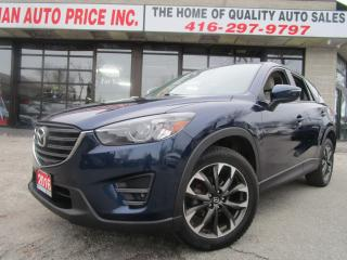 Used 2016 Mazda CX-5 GT-AWD-NAVI-CAM-ROOF-BLTOOTH-HEATED-ALLOY for sale in Scarborough, ON
