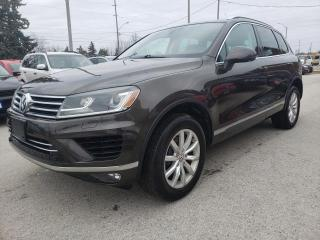 Used 2017 Volkswagen Touareg V6 SPORT W/TECH for sale in Waterdown, ON