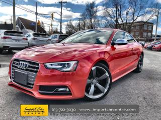 Used 2015 Audi S5 3.0T Technik ONLY 41KKMS  NAPPA LEATHER  PANO ROOF for sale in Ottawa, ON