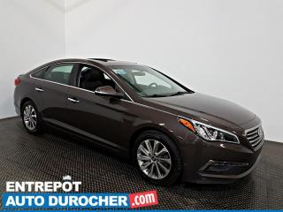 Used 2016 Hyundai Sonata 2.4L GLS Special Edition TOIT OUVRANT - A/C -CUIR for sale in Laval, QC