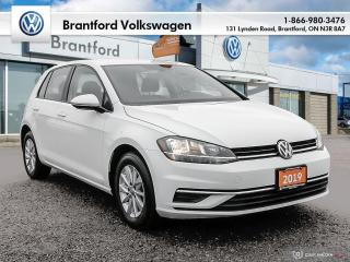 Used 2019 Volkswagen Golf 5-Dr 1.4T Comfortline 8sp at w/Tip for sale in Brantford, ON