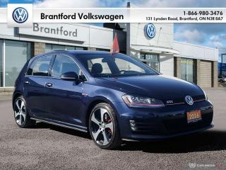 Used 2016 Volkswagen Golf GTI 5-Dr 2.0T Autobahn 6sp DSG at w/Tip for sale in Brantford, ON