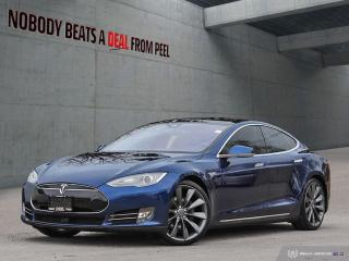 Used 2015 Tesla Model S 85D, 21Turbines, Summon, Autopilot, Recaro, EV for sale in Mississauga, ON